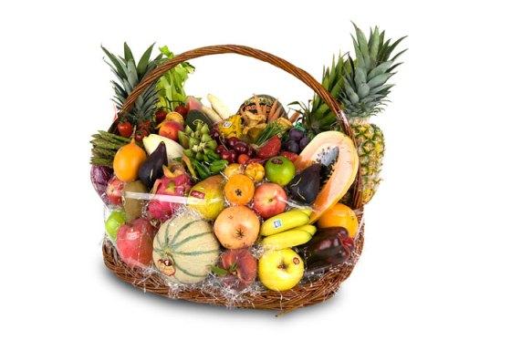 Frutas y Verduras de Invierno (Cesta)